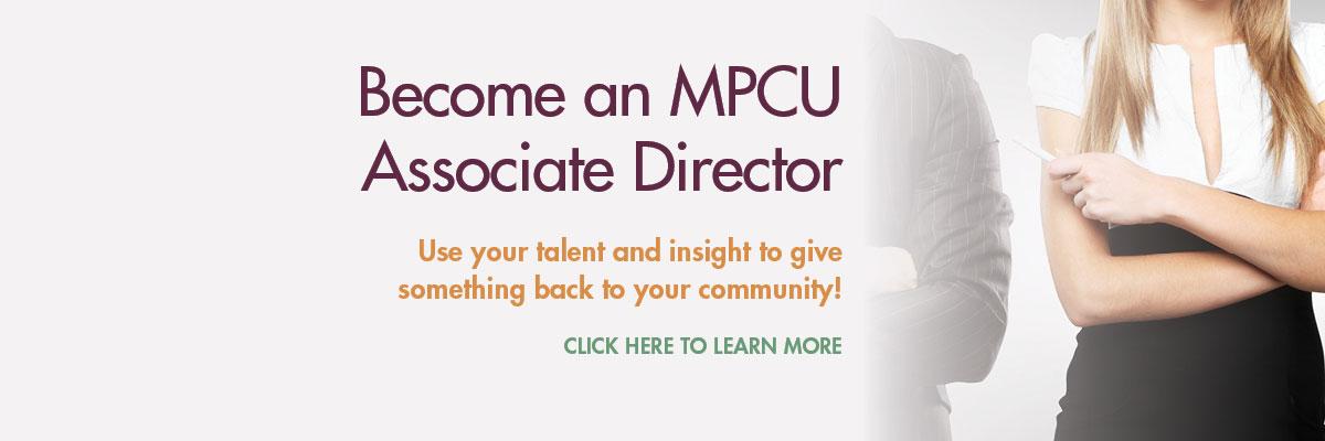 Become an MPCU Associate Director